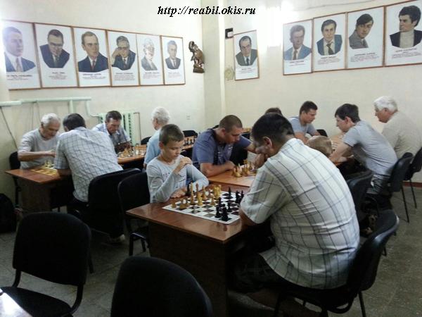 шахматный турнир в Луганске
