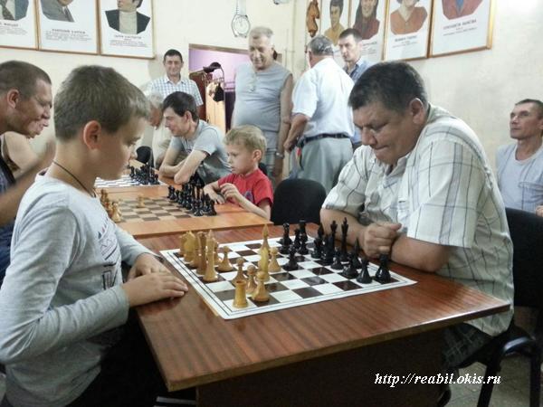 шахматы в Луганске очень популярны