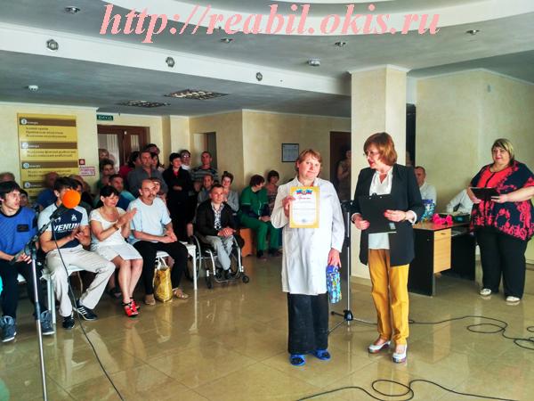 награждается младшая медицинская сестра – Волобуева Татьяна Александровна