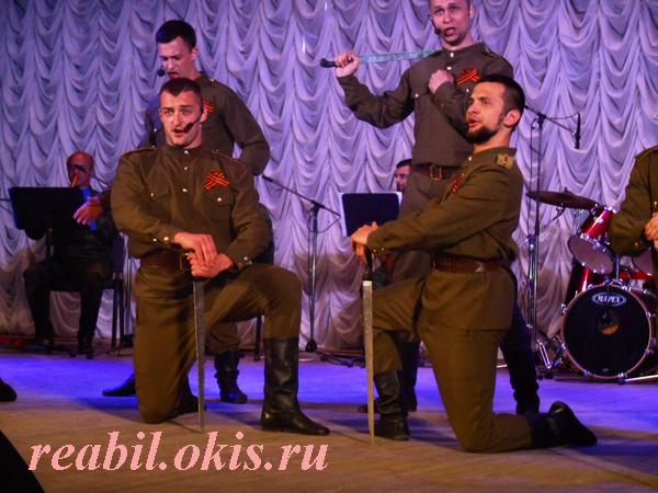 профессиональные артисты ансамбля песни и танца «Раздолье»