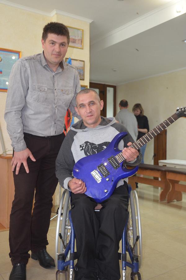 в Центре реабилитации инвалидов