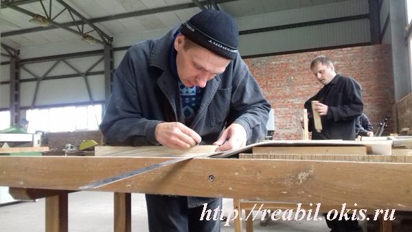 выпуск группы по профессии «Столяр строительный»