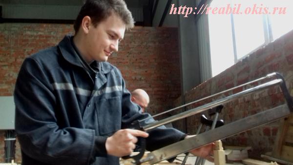 в ГУ ЛНР «Центр комплексной реабилитации инвалидов» состоялся выпуск группы по профессии «Столяр строительный»