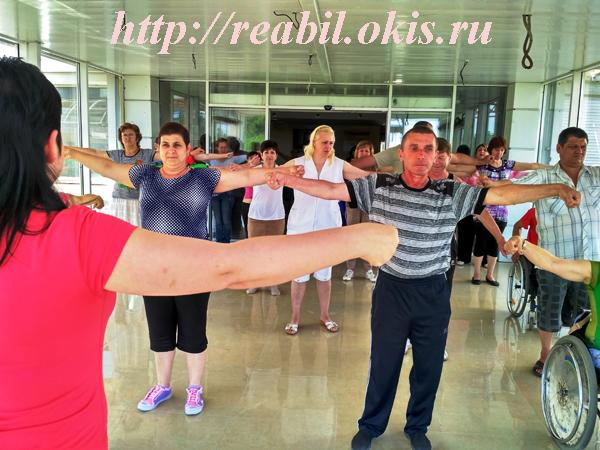 в Луганском «Центре комплексной реабилитации инвалидов» состоялся спортивный флешмоб