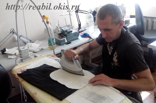Профессия «Портной» в ГУ ЛНР «Центр комплексной реабилитации инвалидов»