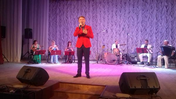 Заслуженный артист Ингушетии Руслан Буханцев