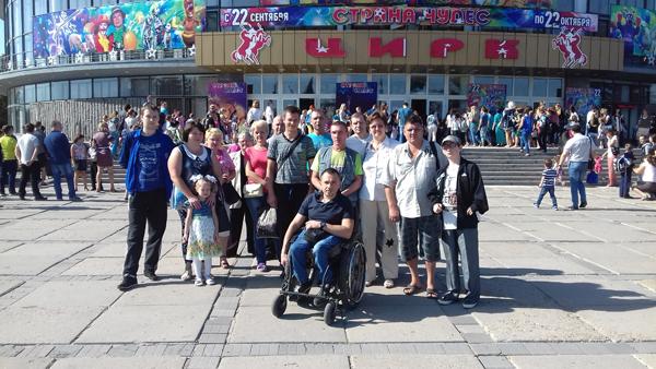 цирк в Луганской Народной Республике