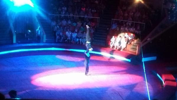 очередное представление в Луганском Цирке
