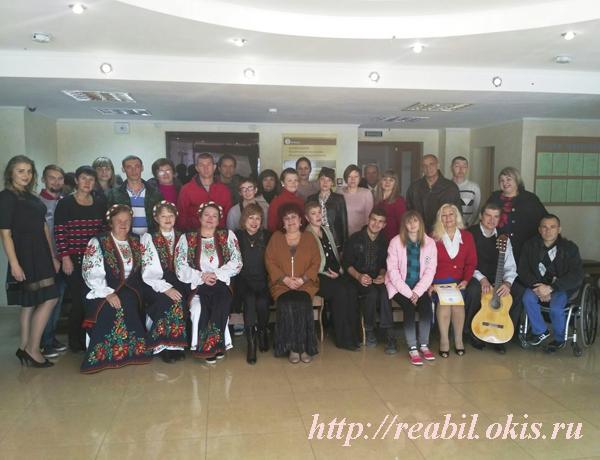 в ГУ ЛНР «Центр комплексной реабилитации инвалидов состоялось социокультурное мероприятие, приуроченное ко Дню учителя