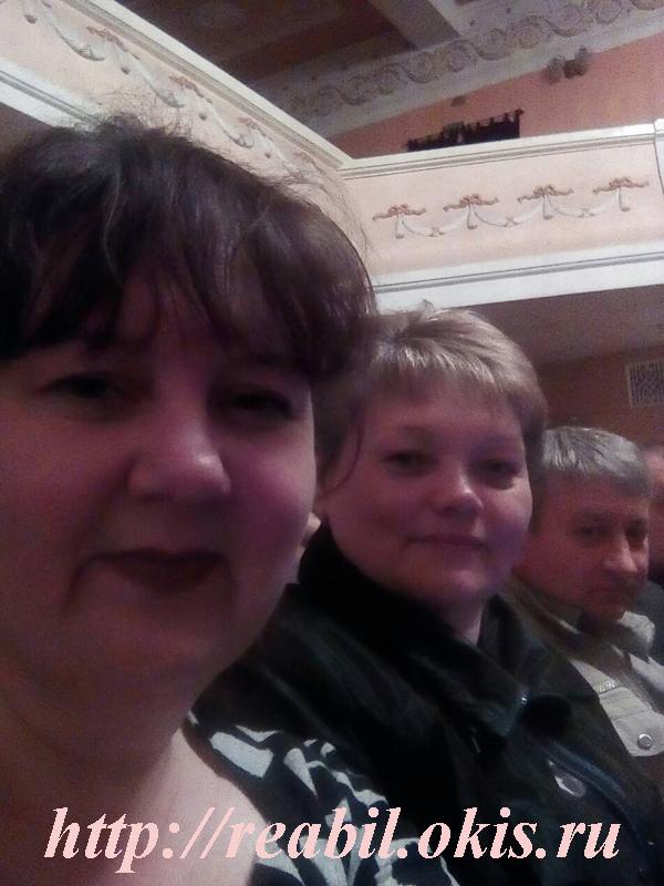 театр снутри в Луганске