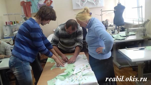 в Луганском Центре комплексной реабилитации инвалидов