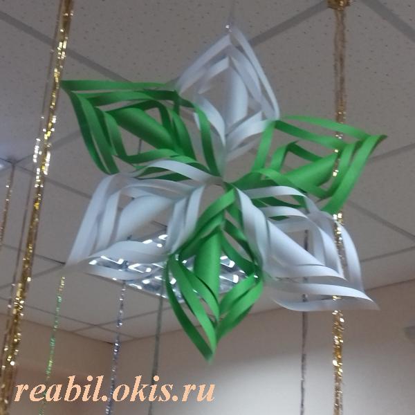 очередная игрушка сделанная в Центре реабилитации в Луганске