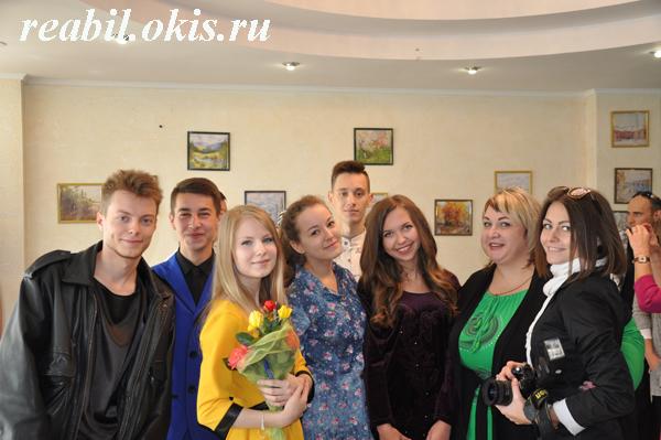 студенты Луганской государственной академии культуры и искусств имени М.Матусовского