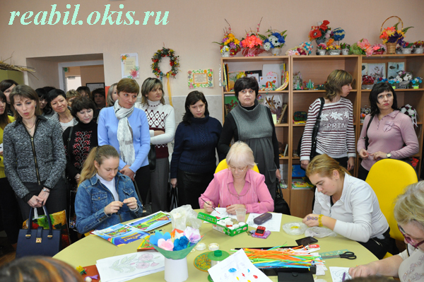 класс Центра комплексной реабилитации инвалидов