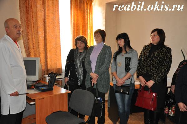в Центре комплексной реабилитации инвалидов в ЛНР