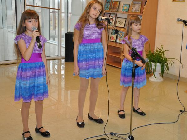 маленикие артисты Луганска