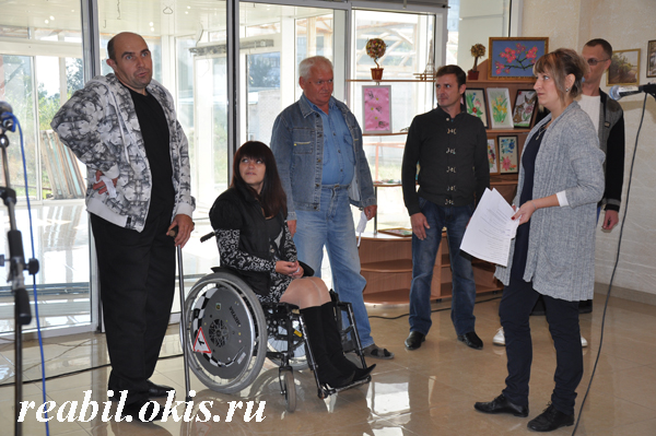 выступление учащихся Луганского Центра реабилитации инвалидов