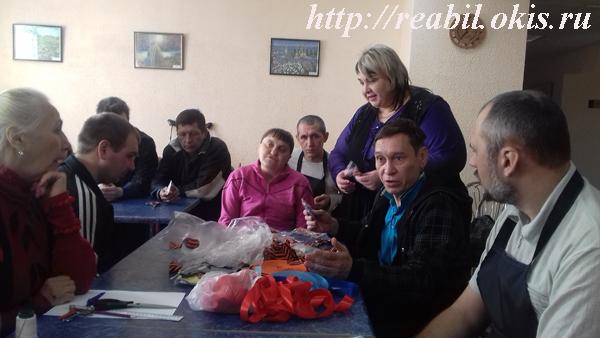 мастер-класс «Георгиевские броши ко Дню Победы»
