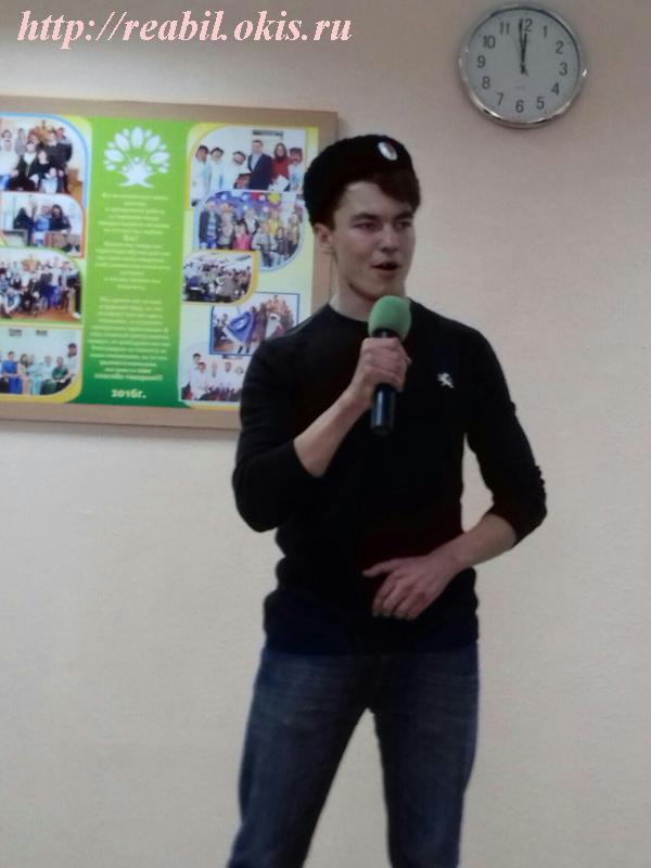 студент Алексей Костырин
