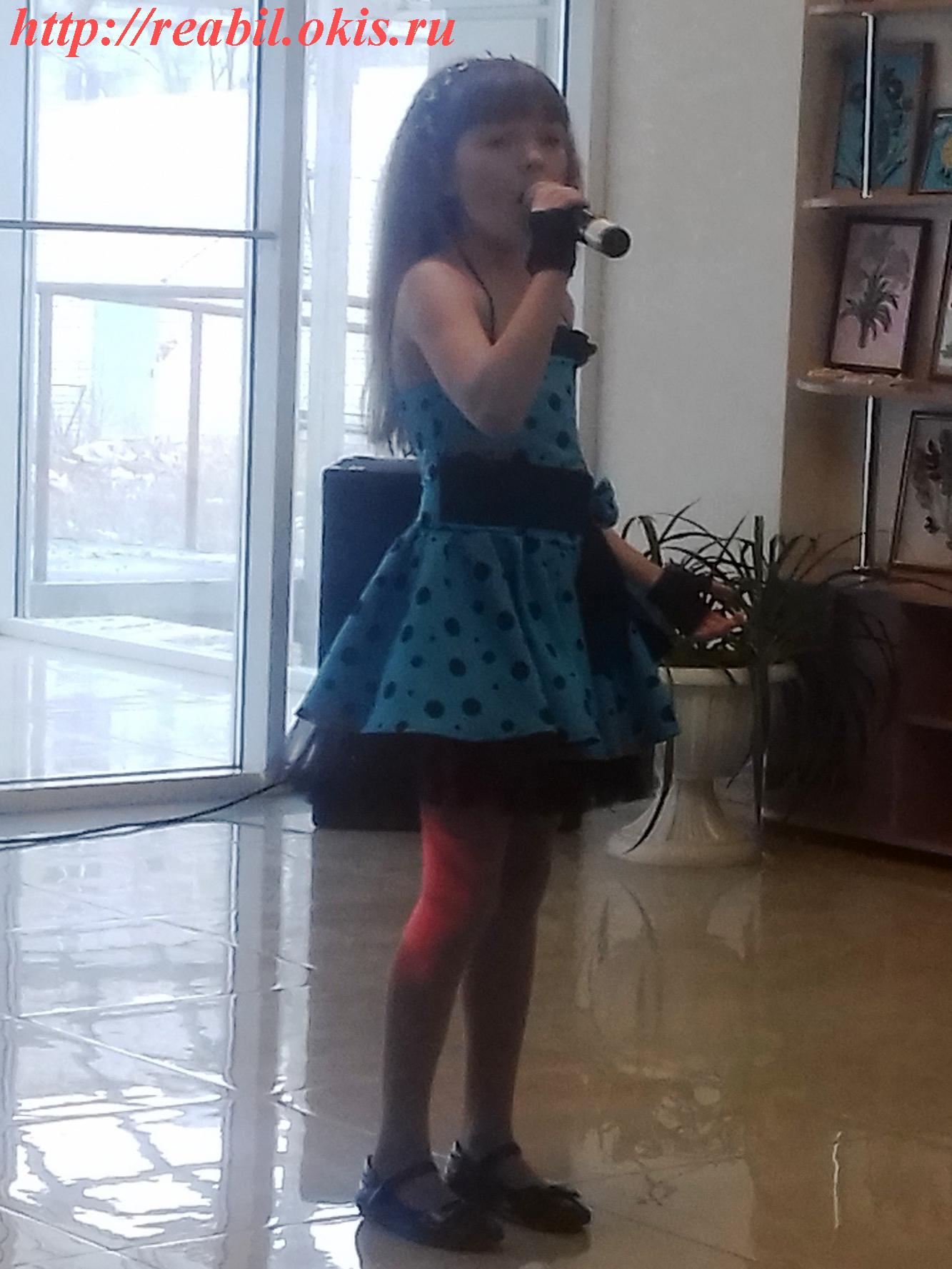 Солистка вокального ансамбля «Созвездие» - Дарья Ляховченко